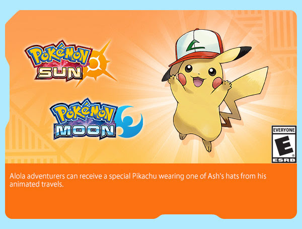 September Newsletters have been sent out! Pokémon Sun & Moon