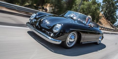 West Coast Custom's Cayman based Porsche 356