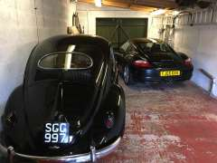 In the garage with the old one, family resemblance