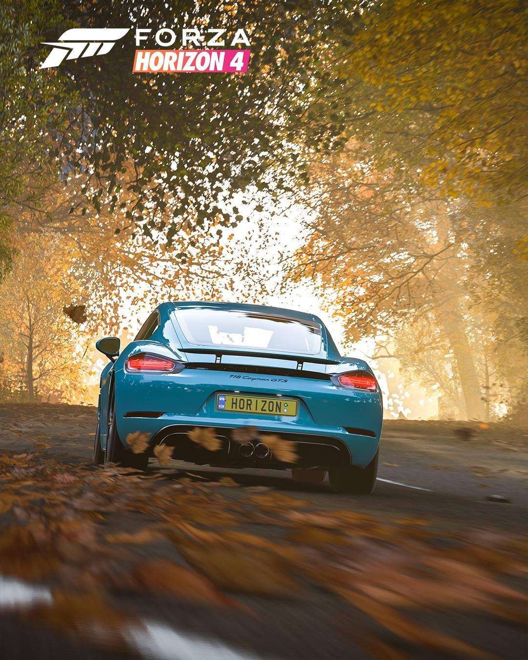 718 Cayman now available on your games console!