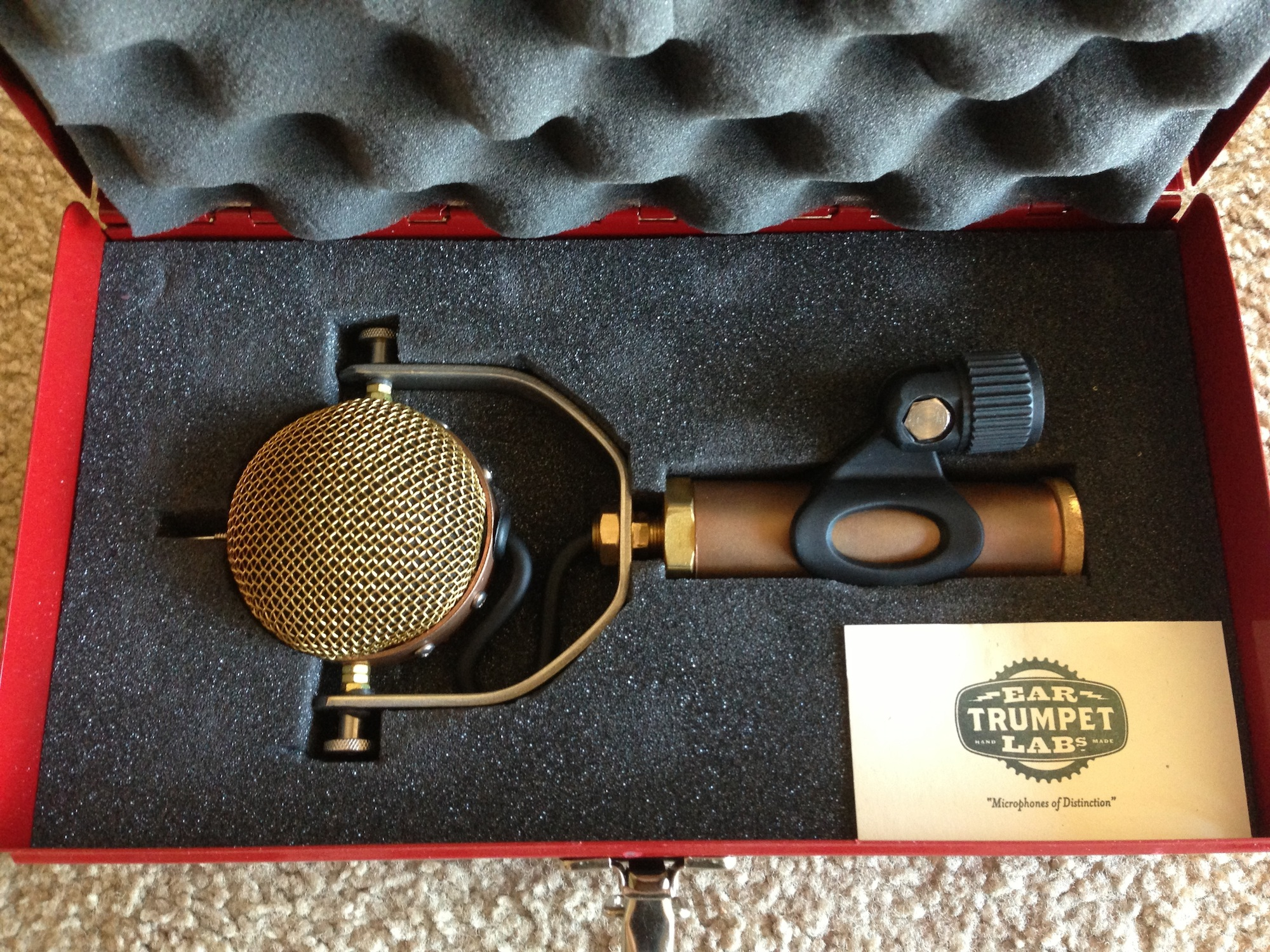 Ear Trumpet Labs Mabel - Recording - Harmony Central