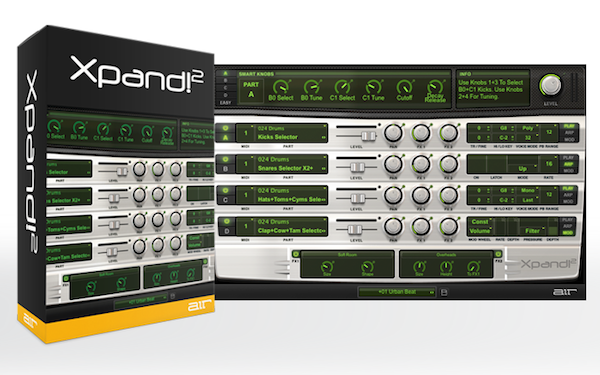 AIR Music Technology Xpand!2 - Modules and MIDI - Harmony