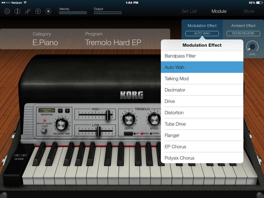 Korg Module for iPad - Modules and MIDI - Harmony Central