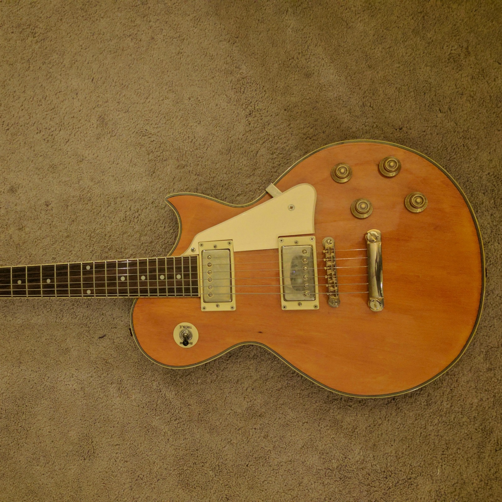 Help identifying a Japanese Les Paul style Guitar - Electric