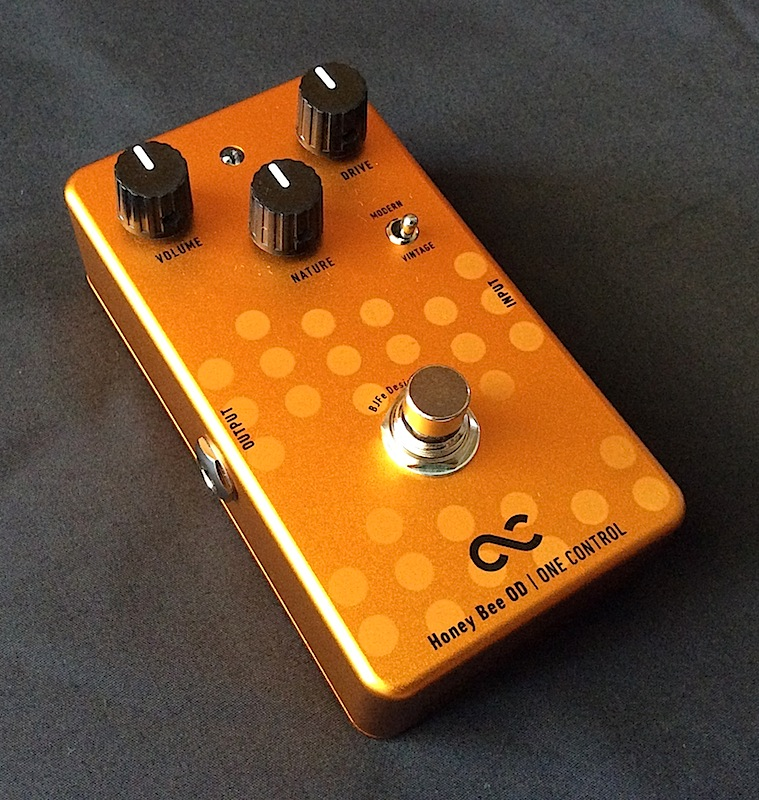 One Control Honey Bee Overdrive - Effects - Harmony Central