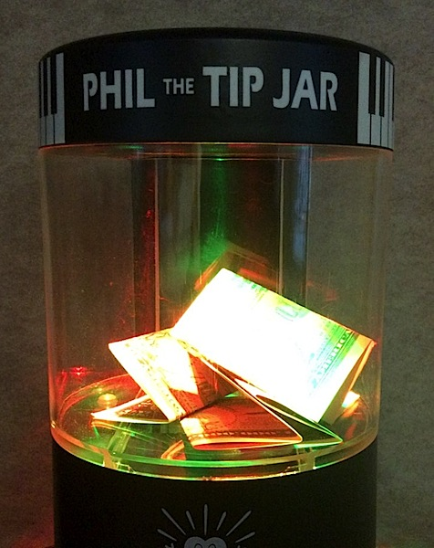 picture regarding Printable Tip Jar Signs titled Fantastic Fortune Industries Phil The Idea Jar - Misc - Balance